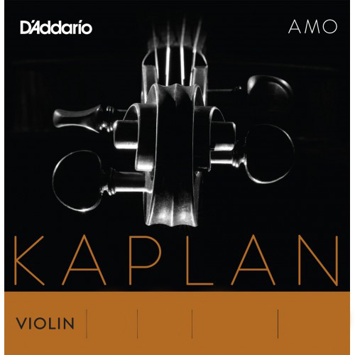 Single Kaplan Solutions Non-Whistling Violin E String 4/4 Ball and Loop