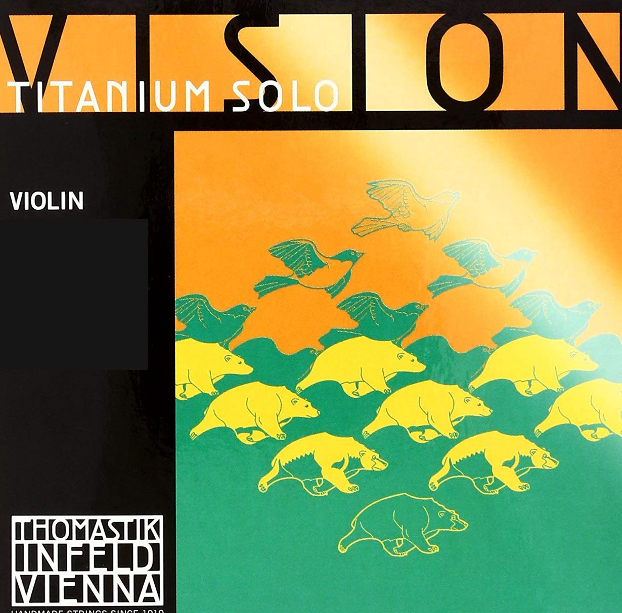 Thomastik Infeld Vision Titanium Violin String Set